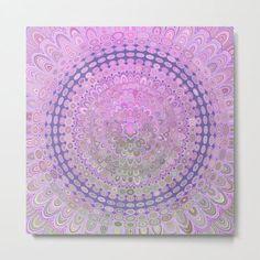Pink Mandala Circle Metal Print by David Zydd #BestMetalPrints #MandalaMetalPrint #Abstract #BohemianDecor #Metal #BohemianArt #MandalaDecor #Energy #ProductDesign (tags: mandala, mandala decoration, mantra, mandala artwork, mandala wall art, flower, mandala home decor, healing, home, wall, psychedelic, graphic design, art, artwork, mandala wall decoration, bohemian wall decor, relaxation, floral design, art print) Art Prints For Sale, Framed Art Prints, Poster Prints, Canvas Prints, Bohemian Wall Decor, Bohemian Art, Boho, Circle Canvas, Circle Art