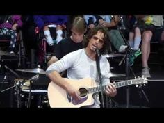 Chris Cornell Soundgarden - Zero Chance - Bridge School (October 26, 2014) Not sure why the kids are staring at their backs and aren't seated in front of the bands.  - YouTube