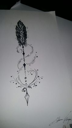 ,You can find Arrow tattoo design and more on our website. Tattoo Drawings, Body Art Tattoos, New Tattoos, Small Tattoos, Tiny Tattoo, Small Arrow Tattoos, Hp Tattoo, Tattoo Pain, White Tattoos