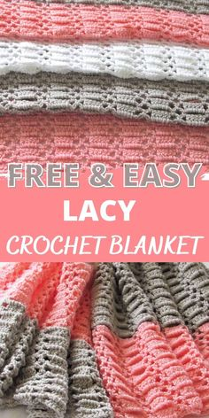 Crochet Baby Blanket Free Pattern, Easy Crochet Blanket, Crochet For Beginners Blanket, Crochet Headband Pattern, Beginner Crochet, Crochet Blankets, Baby Blankets, Crochet Patterns, Basic Crochet Stitches