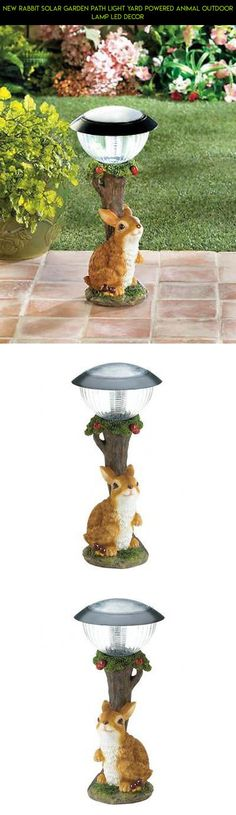 New Rabbit Solar Garden Path Light Yard Powered Animal Outdoor Lamp Led Decor #gadgets #tech #outdoor #drone #powered #decor #shopping #fpv #technology #parts #racing #plans #camera #solar #products #kit