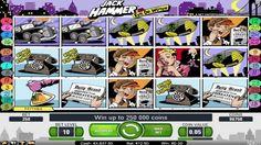 Jack Hammer Vs. Evil Dr. Wuten  è una slot a 5 rulli e 25 linee di pagamento creato da NetEnt. Gioca gratis in SlotMachineGratisX.com: http://slotmachinegratisx.com/giochi-slot/jack-hammer/