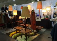 Samantha Howard Vintage teamed up with Zegers Design at the Toronto Antique & Vintage Market at Exhibition Place, March 2016