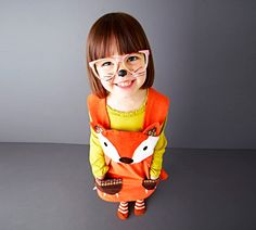 I'd wear this too though<3 ::: girls dress fox baby dress up by wildthingsdresses on Etsy, $60.00