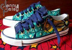 Jenny Patsy Selection de basket imprimées du blog CéWax. Vous aimez les tissus africains? visitez la boutique de CéWax : http://cewax.alittlemarket.com/ #wax, #ankara, #kente, #kitenge, #bogolan, #Africanfashion, #ethnotendance, #AfricanPrints