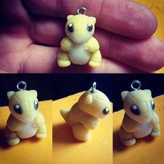 """Sandshrew #sandshrew #pokemon #pokeclay #pika #pokeart #porcelanafria…"