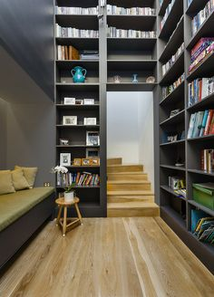 Top Office Design Ideas - Oneflare #bookcase #library #officedesign