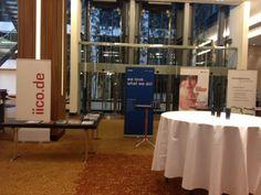 TWT auf der iico: Unser Creative Director Jens und unsere Senior Projektmanagerin Olga sind heute auf dem Düsseldorfer infopark internet congress. Als Experten aus der Praxis zeigen sie die besten Web-Lösungen und geben einen Überblick der wichtigsten Business-Trends. Ein Bild vom TWT-Stand haben die Beiden auch schon geschickt. :) http://www.facebook.com/photo.php?fbid=10151278470620804=a.266662400803.184363.151488195803=1
