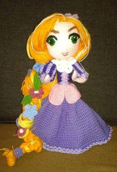 My Crochet Rapunzel