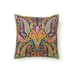 Подушка декоративная с принтом 'Пейсли' - декоративные подушки - спальная комната | Zara Home Россия / Russia