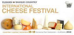 El International Cheese Festival es el certamen de quesos más importante del mundo cuya nueva edición se celebrará en San Sebastián/Donostia, Capital Europea de la Cultura 2016, incluyendo en su programa la 29ª edición de World Cheese Awards. La cita será los días 16, 17 y 18 de noviembre de 2016. Cheese Festival, Basque Country, Queso, Quote, November, Culture, Events
