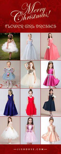Flower Girl Dresses & Junior Bridesmaid Dresses. Shop Christmas Sale today! #jjshouse