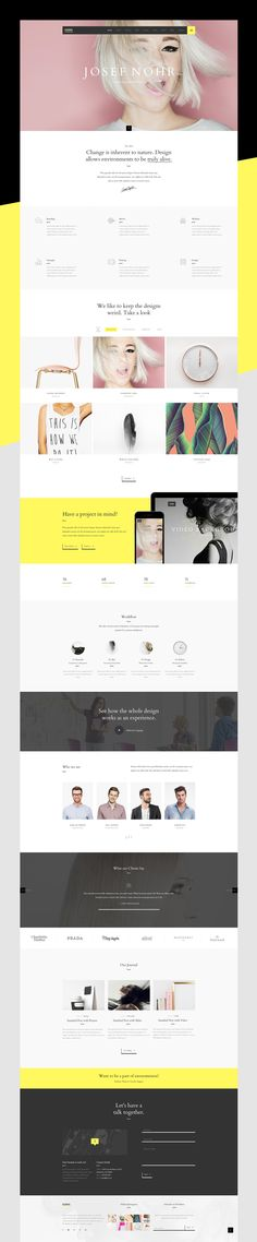 Hawa – A Hot Creative Multipurpose Template that tells a story through imagery, fonts and layout. With not a pixel out of place, it is a great way to highlight all of your work.