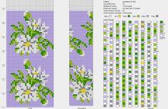 флора : Формат jpg : Схемы для вязаных жгутов : Файлы : jbead