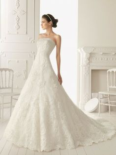 Pin by designers wedding dresses on Aire Barcelona Wedding Dresses Aire Barcelona Wedding Dresses, Wedding Dress 2013, Wedding Dress Organza, Applique Wedding Dress, Modest Wedding Dresses, Elegant Wedding Dress, Wedding Dress Styles, Wedding Party Dresses, Designer Wedding Dresses