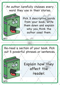 Teacher's Pet - KS2 Reading Challenge Cards (Pack 1) - Premium Printable Classroom Activities and Games - EYFS, KS1, KS2, challenge, reading...
