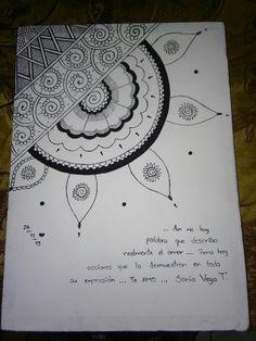 Mandala Doodle, Mandala Drawing, Doodle Art, Music Drawings, Art Drawings Sketches Simple, Easy Drawings, Drawings Pinterest, Pencil Drawings Of Flowers, Doodle Pages