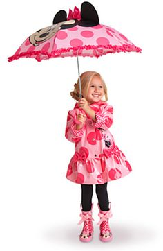 Minnie Mouse Pink Rainwear Collection for Girls