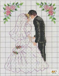 Свадебные метрики.Вышивка крестиком.. Обсуждение на LiveInternet - Российский Сервис Онлайн-Дневников