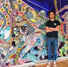 @zioziegler - this piece is dope. // #streetart #art #graffiti #dossblockos #palelager #east9thbrewing