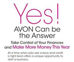 JOIN TODAY BEFORE THIS GREAT DEAL ENDS....Join one of the TOP DS companies in the world that has been in business for over 128 years ‪#‎AVON‬ must be doing something right Click the link to join TODAY http://johnni.avonrepresentative.com/opportunity/start