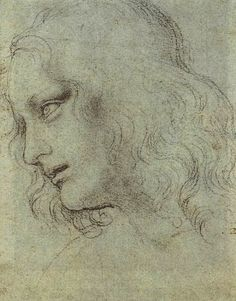 Study for the Last Supper, Philip the Apostle, Leonardo da Vinci. High quality…