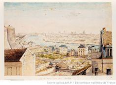 Vue de Paris prise de Chaillot  non identifié, c. 1800  http://bit.ly/IyA3Oq