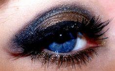 eye make-up  smokey eyes