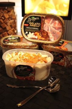 Enjoy the glitz & glamour of Hollywood from the comfort of home. Grab a spoon & dig into Breyers Gelato Indulgences!