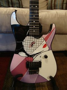 Jackson Dinky USA Custom Shop Nagel Print