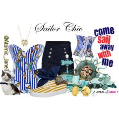 Summer Sailing is always fun when you're Sailor Chic.