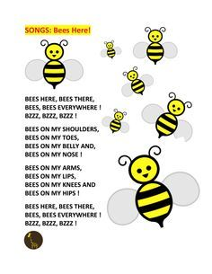 bumble bee song   ... play five big bees on a billygoat s knee pdf songs bee song bumble bee