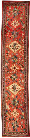 Oushak runner  West Anatolia  circa 1900  size approximately 2ft. 5in. x 11ft. 5in.