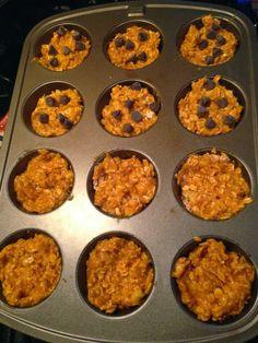 taylor made: make-ahead healthy breakfast: pumpkin oatmeal muffins