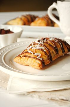 Nutella, Banana and Coconut Hot Pockets by How To: Simplify, via Flickr