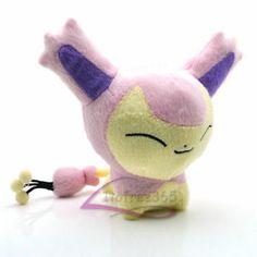 New Pokemon 5 5'' Skitty Soft Plush Doll Toy PC1957 | eBay