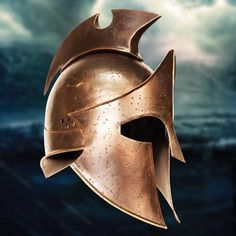 The Greek General Themistokles' Helmet from the Movie 300: Rise of an Empire