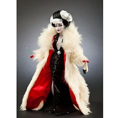 "Limited edition of ""101 Dalmatians"" Cruella De Vil from the Disney Villains Designer Collection by Steve Thompson."