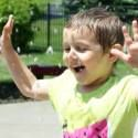 Make-A-Wish® Illinois: Autumn's Splash Pad. This special little girl has the most beautiful smile that will light up a whole room.