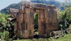 """Called """"Inca"""" ruins in the Chachapoya territory on the edge of the Peruvian jungle, these megalithic remains probably predate the Inca by thousands of years."""