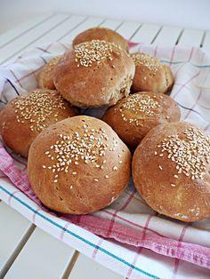 Roggenvollkorn-Burgerbuns - Grilling, Goodies, Bread, Food, Hamburger Buns, Warm Food, Rye, Meal, Kuchen
