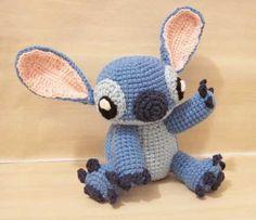 Stitch of Lilo & Stitch.  http://www.amigurumipatterns.net/Cartoons-and-Games/Stitch/