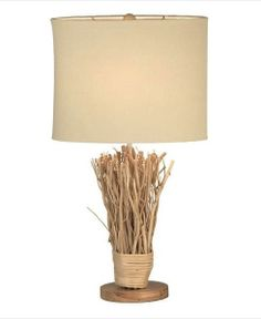 Stylish Rustic Twig Table Lamp