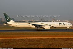 AP-BHV PIA Pakistan International Airlines Boeing 777-340(ER) taken 13. Feb 2013 at Dhaka - Hazrat Shahjalal International (Zia Intl.) (DAC / VGHS) airport, Bangladesh by Raihan Ahmed