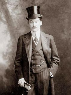 Alfred Gwynne Vanderbilt I boarded the RMS Lusitania bound for Liverpool as a first class passenger. It was a business trip, and he traveled with only his valet, leaving his family at home in New York. On May 7 off the coast of County Cork, Ireland, the German U-boat, U-20 sank it. - http://www.rmslusitania.info/people/saloon/alfred-vanderbilt/
