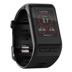 Put your heart into it as you play harder, work smarter and live better with the Garmin vivoactive HR GPS Smartwatch