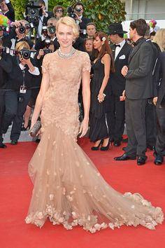 Cannes Film Festival 2012 - Naomi Watts in Marchesa at the Madagascar 3 premiere.