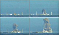 Photos of Fukushima Nuclear Power Plant Explosion, March 2011.