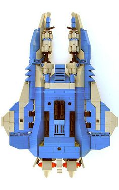 CS Vic Viper - undercarriage | by LegosPwn