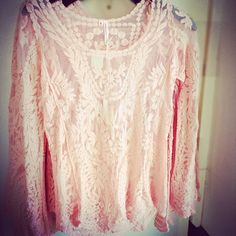 New this week! Adorable pink lace top $36. #thisisboise #thethreadedzebra #eagle #boutique #boise #shopping More at: http://instagram.com/p/iMhGqMnLeV/